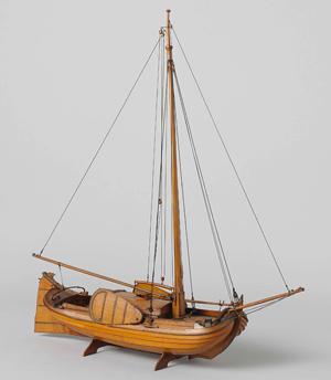 Model van een boeier, Rijkswerf Amsterdam, ca. 1817 Collectie Rijksmuseum